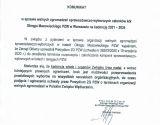 Komunikat w sprawie walnych zgromadzeń sprawozdawczo-wyborczych członków kół Okręgu Mazowieckiego PZW na kadencję 2021-2024