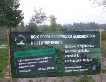 Jesienna edycja zajęć Wołomińskiej Szkółki Wędkarskiej- sezon 2017