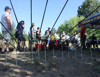 III zajęcia wołomińskiej szkółki wędkarskiej -Brachnia